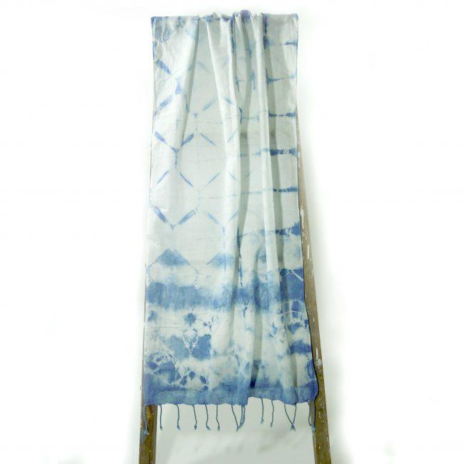 foulard à franges petit poid